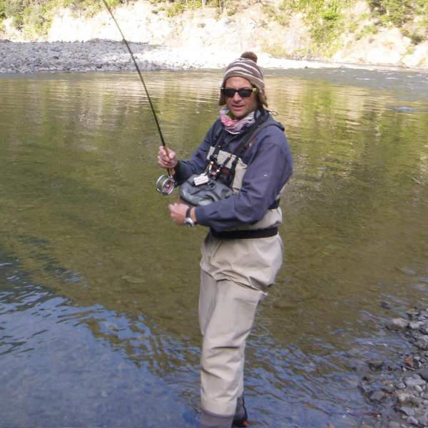 Fly Fishing Tongariro river